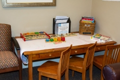 Kids / Children's Play Area of Door County Dental Care Dentists Office in Sturgeon Bay, WI