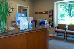 Front Desk at Door County Dental Care Dentists Office in Sturgeon Bay, WI