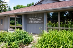 Front Exterior of Door County Dental Care Dentists Office in Sturgeon Bay, WI