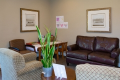 Waiting Area of Door County Dental Care Dentists Office in Sturgeon Bay, WI