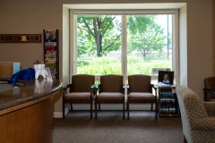 Interior of Door County Dental Care Dentists Office in Sturgeon Bay, WI