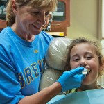 Child Fitted with Athletic Dental Mouthguard in Door County, WI