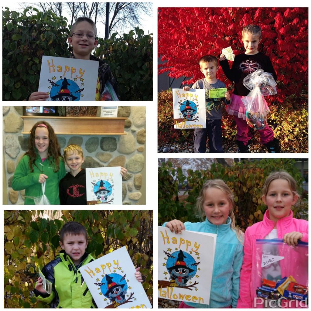 Door County Dental Care Halloween Candy Buyback Participants