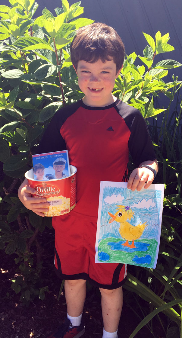 Levi May 2016 Coloring Contest Winner at Door County Dental Care