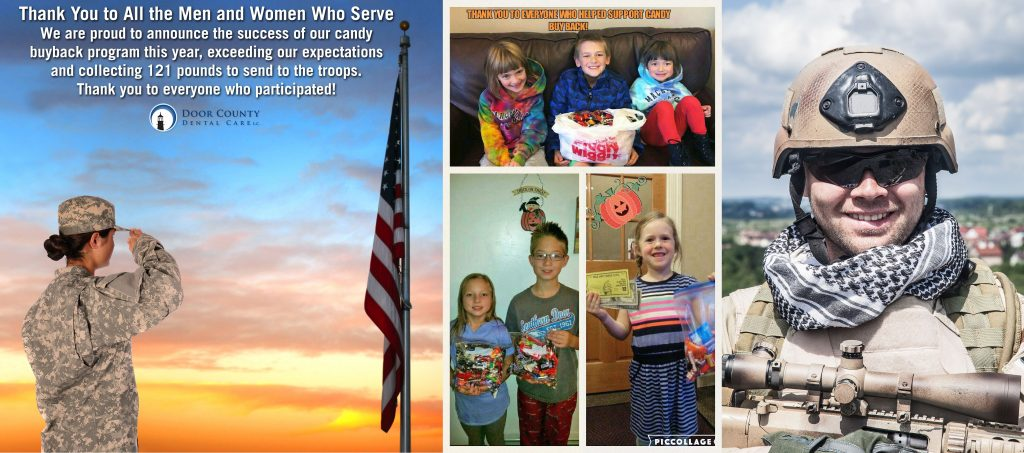 2016 Candy Buyback Success at Door County Dental Care