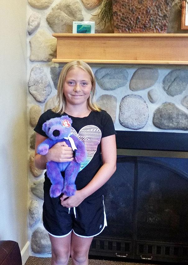 Stuffed Animal Winner at Door County Dental Care