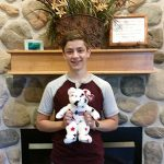 July Stuffed Animal Winner at Door County Dental Care!