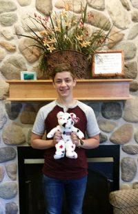 July Stuffed Animal Winner