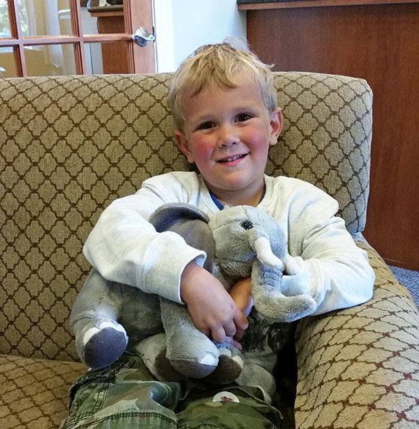 Door County Dental Care August 2017 Stuffed Animal Winner