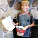 Door County Coloring Contest Winner Brady