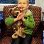 October Stuffed Animal Winner at Door County Dental Care in Sturgeon Bay, WI