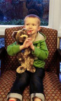 October Stuffed Animal Winner