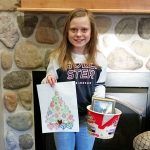 Door County Dental Care Coloring Contest Winner