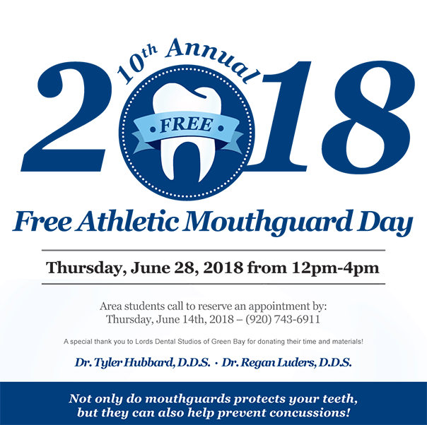 2018 Door County Free Athletic Mouthguard in Sturgeon Bay, WI at Door County Dental Care