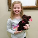 August 2018 Stuffed Animal Winner at Door County Dental Care