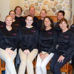 Door County Dental Care Staff in Ellie Helm Foundation Shirts