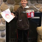 Door County Dental Care Coloring Contest Winner - Back to the Future and a Popcorn Bowl.