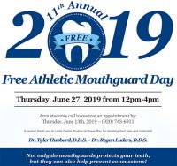 11th Annual FREE Athletic Mouthguard Day