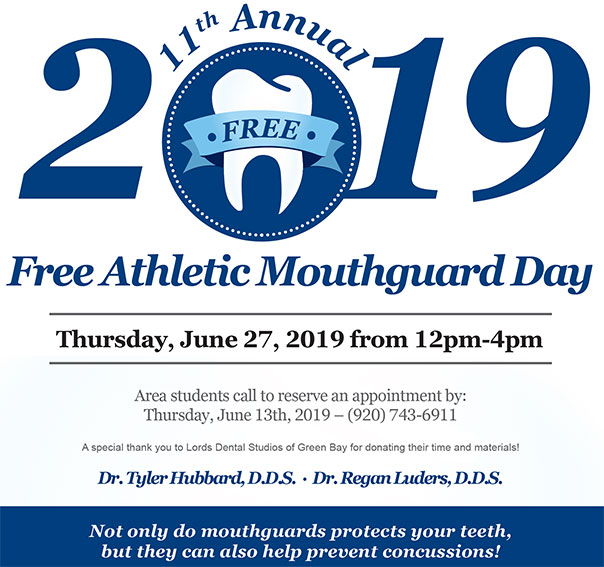 2019 Door County Free Athletic Mouthguard in Sturgeon Bay, WI at Door County Dental Care