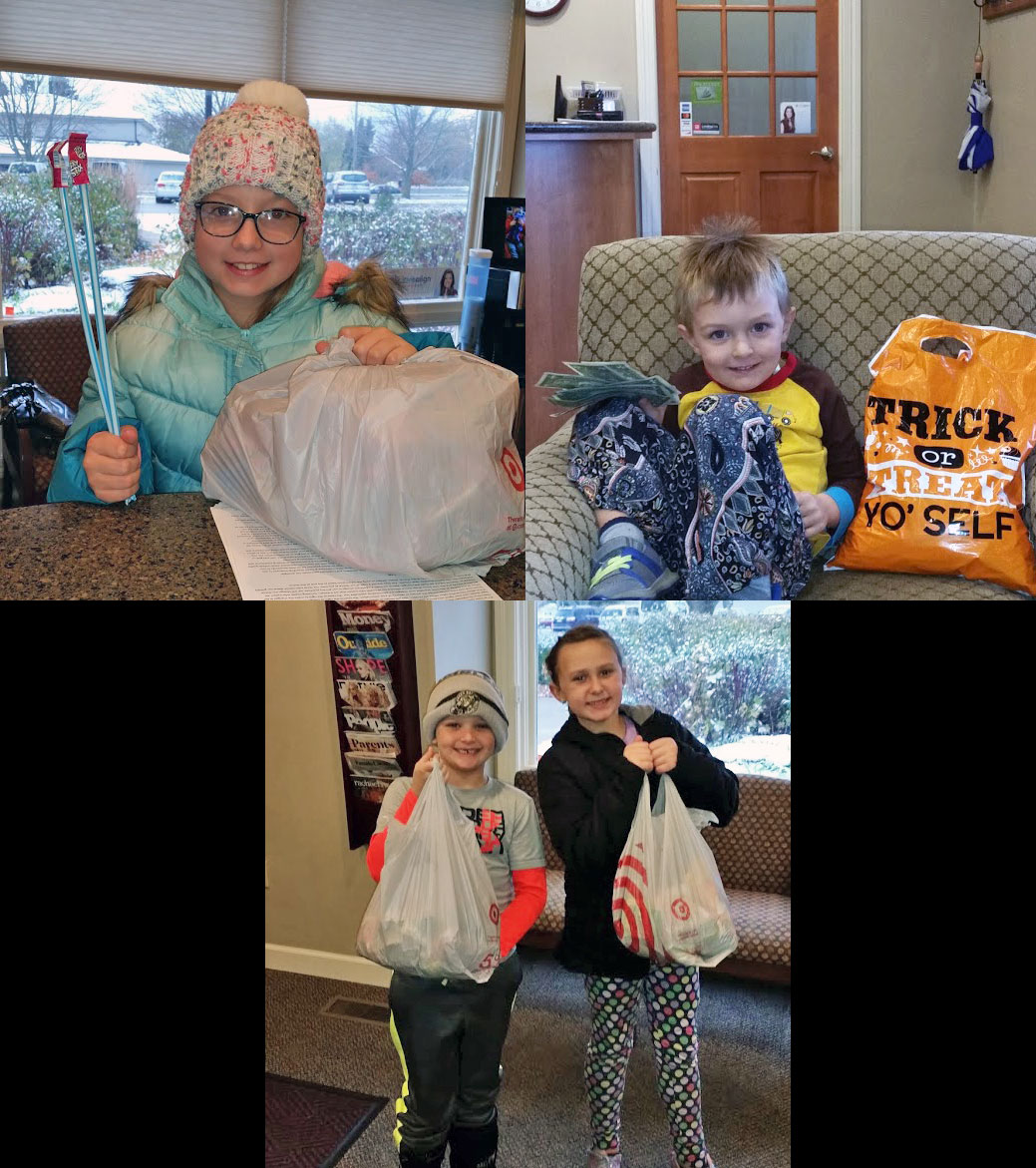 2019 Halloween Candy Buyback at Door County Dental Care in Sturgeon Bay, WI