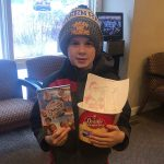 January 2020 Coloring Contest Winner at Door County Dental Care in Sturgeon Bay, WI