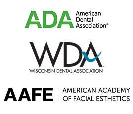 Door County Dental Care is Part of the American Dental Association, Wisconsin Dental Association, and American Academy of Facial Aesthetics