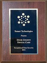 Exceptional Data Security at Door County Dental Care